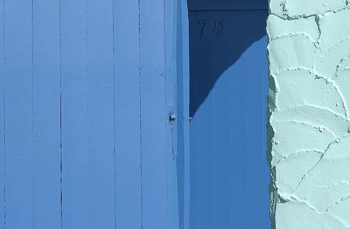 Capitola Blue Door