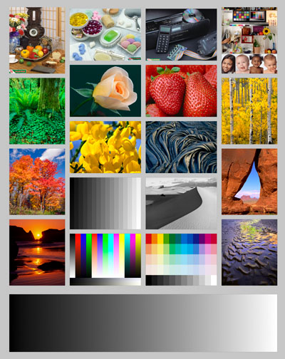 laser printer color test page - printing insights 48