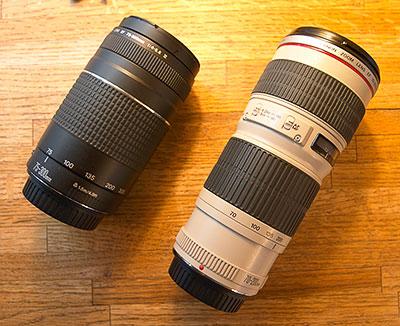 Canon Lenses - Canon Telephoto Lens VS Canon Normal Lens